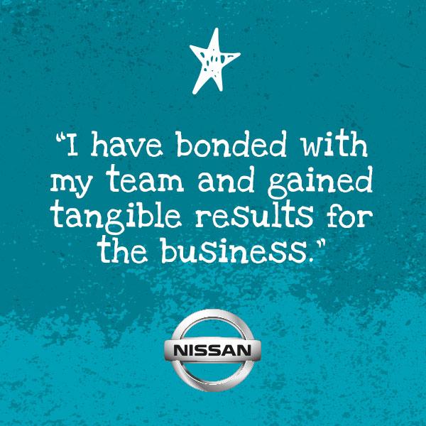 Nissan testimonial