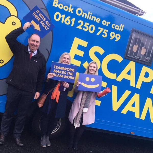 Escape the van